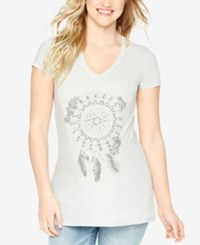 Wendy Bellissimo Maternity Graphic Tee Dream Catcher