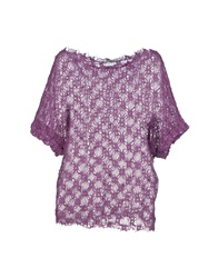 Le Ragazze Di St. Barth Sweaters Purple