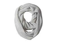Calvin Klein Textured Stripe Infinity Scarf Heathered Mid Grey Scarves Blue