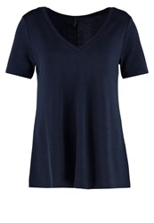 United Colors Of Benetton Basic Tshirt Navy Blue Dark Blue