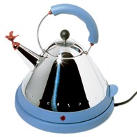 Alessi Electric Bird Kettle Blue