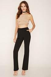 Forever 21 Flared Woven Pants