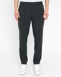 Acne Studios Grey Ryder Travel Wool Trousers