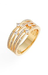 Nadri Women's 'Liliana' Cubic Zirconia Ring Gold