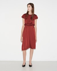 Etoile Isabel Marant Harold Dress Burgundy