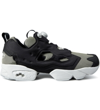 Reebok Black Steel Instapump Fury Tech Shoes
