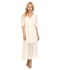 Bcbgeneration Boho Dress Whisper White Women's Dress