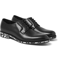 Jimmy Choo Alaric Leather Derby Shoes Black