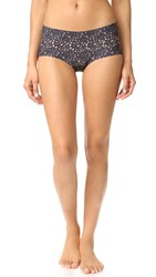 Hanky Panky Venise Bare Boyshorts Brown Black