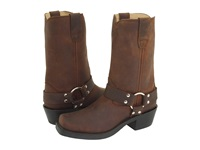 Durango Rd594 Gaucho Distress Leather Women's Pull On Boots Brown