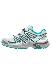 Salomon Wings Flyte 2 Trail Running Shoes Pearl Blue Deep Teal Deep Peacock Blue Turquoise