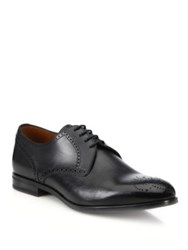 Bally Laran Perforated Leather Derby Shoes