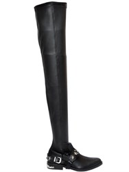 Toga Pulla 20Mm Over The Knee Stretch Leather Boots