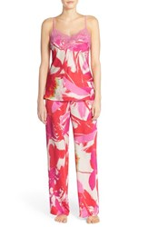 Women's Natorie 'Lucent Palms' Camisole Pajamas