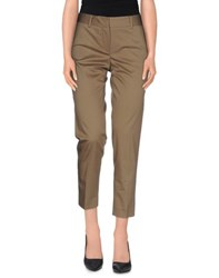 Paul And Joe Trousers Casual Trousers Women Military Green