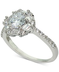 Macy's Giani Bernini Cubic Zirconia Statement Ring In Sterling Silver Only At