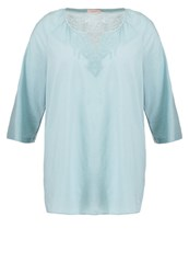 Triangle Tunic Blue Glass Turquoise