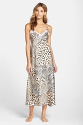 Oscar De La Renta 'Tying The Knot' Nightgown Beige