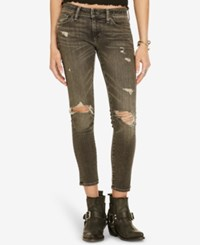 Denim And Supply Ralph Lauren Cropped Skinny Jeans Hutton
