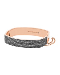 Pave Hinge Bangle Bracelet Michael Kors