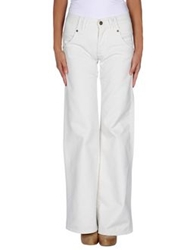 Jucca Denim Pants Ivory