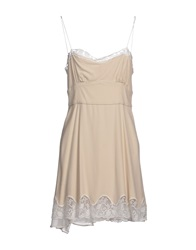 Coast Weber And Ahaus Knee Length Dresses Beige