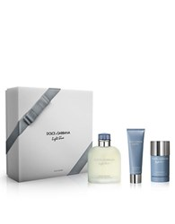 Dolce And Gabbana Light Blue Pour Homme Eau De Toilette Set