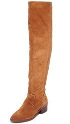 Dolce Vita Kitt Over The Knee Boots Dark Saddle