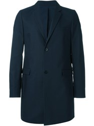 Folk 'Three Four' Overcoat Blue