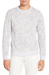 Theory 'Danen' Jacquard Terry Sweatshirt Grey Multi