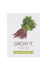 Topshop Grow Your Own Funky Veg Kit Multi