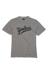 Men's Red Jacket 'New York Yankees' Trim Fit T Shirt