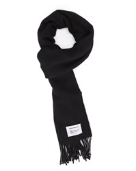 Norse Projects Black Lambswool Scarf