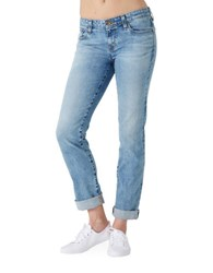 Big Star Kate Faded Straight Leg Jeans Blue