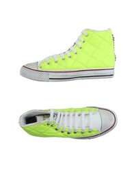 Happiness Footwear High Tops And Trainers Women Yellow