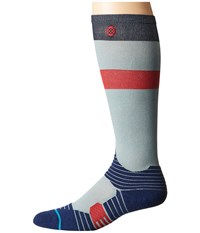 Stance Silver Glance Grey Men's Crew Cut Socks Shoes Gray