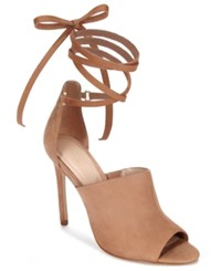 Aldo Women's Zelia Suede Sandals Natural