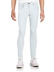 Rag And Bone Standard Issue Fit 1 Skinny Pants White Water