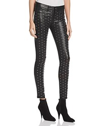 Rag And Bone Jean Hyde Studded Leather Pants Black Leather Stud