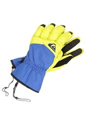 Quiksilver Cross Gloves Yellow Blue