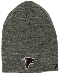 New Era Atlanta Falcons Slouch It Knit Hat Heather Gray