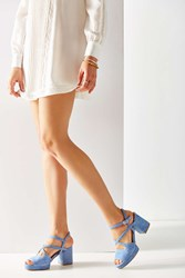 Urban Outfitters Gina Suede Strappy Heel