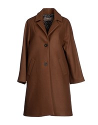 Soho De Luxe Coats And Jackets Coats Women Brown
