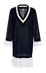 Band Of Outsiders Kentucky Wimbledon Dress Navy