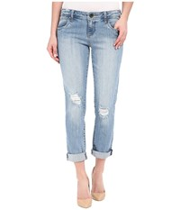 Kut From The Kloth Adele Slouchy Boyfriend Jeans In Touch W New Vintage Base Wash Touch New Vintage Base Wash Women's Jeans Blue