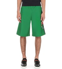 Gucci Snake Motif Shell Shorts Green Red