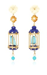 Of Rare Origin Turquoise Aviary Classic Earring Blue