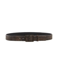 Dekker Belts Dark Brown