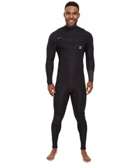Billabong 403 Revolution Tribong Short Sleeve Chest Zip Wetsuit Black Men's Wetsuits One Piece