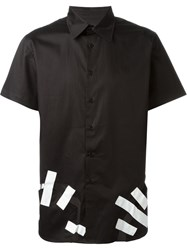 Christopher Shannon Cut Out Detail Shirt Black